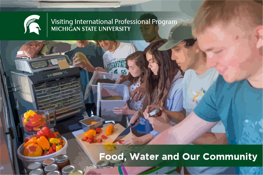 food water and community